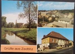 Ak DDR - Zedtlitz - Ortsansicht - Borna