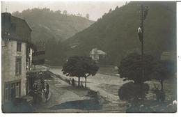 AYWAILLE  - CARTE PHOTO INONDATIONS Du 27 Juillet 1913 - Café Bords Du Ruisseau - RARE - VOIR SCANS - Aywaille