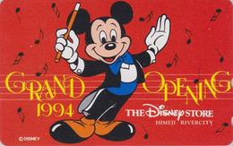 Télécarte NEUVE Japon / 110-158275 - DISNEY STORE GO - HIMEJI 1994 - MICKEY - Japan MINT Phonecard / 2000 Ex - Disney