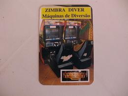Máquinas De Diversão Zimbra Diver Sesimbra Portugal Portuguese Pocket Calendar 1998 - Small : 1991-00