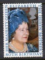 GREAT BRITAIN GB - 1980 QUEEN MOTHER 80th BIRTHDAY 12p STAMP FINE MNH ** SG 1129 - 1952-.... (Elizabeth II)