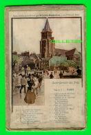 LOTS EN VRAC - SAINT-GERMAIN DES PRÉS, SÉRIE 1 PARIS - LA REVUE LE MONDE MODERNE - 12 CARTES + ENVELOPPE - Cartes Postales