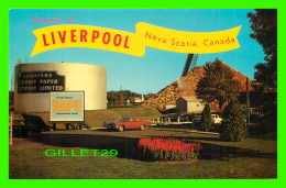 LIVERPOOL, NOVA SCOTIA - BOWATERS MERSEY PAPER COMPANY LIMITED PLANT AT BROOLYN - - Liverpool