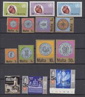 Malte - Malta 1972 Année Complète    *** MNH - Malte