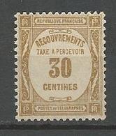 TAXE N°  57 GOM D'ORIGINE  NEUF** LUXE SANS CHARNIERE / MNH / - Taxes