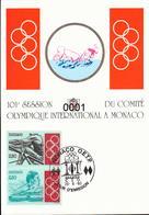 1888 à 1903 Session Du Comité Olympique 20/09/1993 - Maximumkarten (MC)
