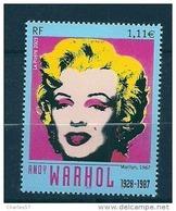 """France: N° 3628 ** """"Marilyn, (Andy Warhol) - France"""