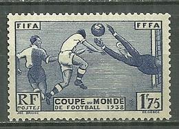 FRANCE MNH ** 396 Coupe Du Monde De Football à Paris - Francia
