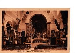 BOUFARIK  (Alger). -  L'intérieur De L'Eglise. RARE. - Alger