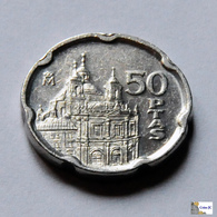 España - 50 Pesetas - 1995 - [ 5] 1949-… : Kingdom