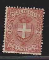 ITALY Scott # 74 MH  - # 3 - 1878-00 Umberto I