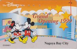 Télécarte Japon / 110-208965 - DISNEY STORE GO - MICKEY & MINNIE - NAGOYA 1999 - Japan Phonecard / 3000 EX - Disney