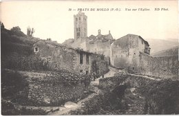 FR66 PRATS DE MOLLO - Nd 19 - Vue Sur L'église - Belle - France