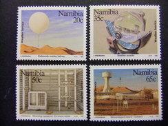NAMIBIA NAMIBIE 1991 Centenario Del Servicio Meteorolögico Yvert  655 / 58 ** MNH - Namibia (1990- ...)