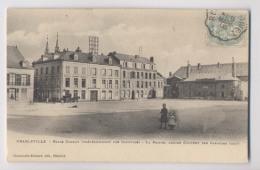 CHARLEVILLE (08)  - 1906 -  Ville De Rimbaud  - Place Carnot (précédemment Des Capucins)  - Animée - Charleville