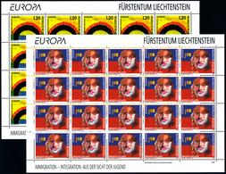 LIECHTENSTEIN, EUROPA 2006 Sheetlets** - 2006
