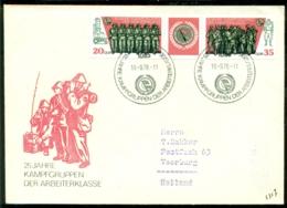 DDR 1978 FDC 25 Jahre Kampfgruppen - FDC: Enveloppes