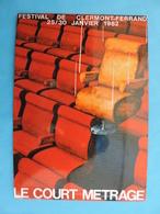 FESTIVAL DE CLERMONT-FERRAND.LE COURT METRAGE.1982. - Manifesti Su Carta