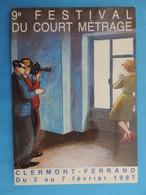 FESTIVAL DE CLERMONT-FERRAND.LE COURT METRAGE.1987 - Manifesti Su Carta