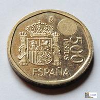 España - 500 Pesetas - 2001 - [ 5] 1949-… : Koninkrijk
