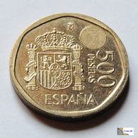 España - 500 Pesetas - 2001 - [ 5] 1949-… : Reino