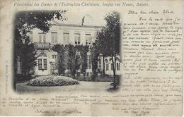 Anvers.   Pensionnat Des Dames  -  Longue Rue Neuve.  -  Entrée Du Jardin.  -  1900 Schooten Naar  Preston Saneas Hire - Antwerpen
