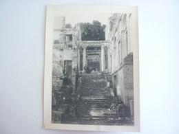 92 PHOTO CHATEAU DE SAINT CLOUD APRES INCENDIE - Saint Cloud