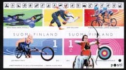 2012 Finland Miniature Sheet Disabled Sports MNH **. - Neufs