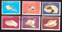 Mozambique 1980-  Day Of The Stamp - Shells  # Complete Set  Cote € 1.75 - Mozambique