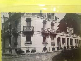 62: Cpa AMBLETEUSE Carte Photo 1936 Hotel Restaurant De La Paix - France