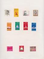 BRD       .    Seite Mit Marken   .    /    .   Page With Stamps - [7] Federal Republic
