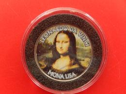Tres Rare Pièce Half Dollar Kennedy Colorisé - LEONARD DE VINCI - MONA LISA - Federal Issues