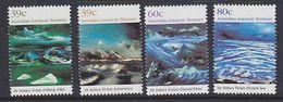 AAT 1989 Nolan Paintings 4v ** Mnh (40130) - Australisch Antarctisch Territorium (AAT)