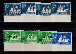 SPM - YV 315 à 322 N** Complete Serie De Londres Surchargée Cote 7+ Euros - St.Pierre Et Miquelon