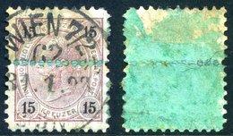 """Mi. 56 F (L 10 1/2) """"TILLER-ZÄHNUNG"""" Gestempelt - Used Stamps"""