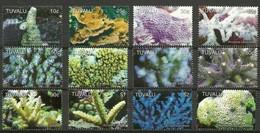 Tuvalu 2006 Yvertn° 1095-1106 Micheln° 1291-2002 *** MNH Cote 30 Euro Faune Marine Corals Koralen - Tuvalu (fr. Elliceinseln)