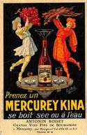 Mercurey Publicité Kina Illustrateur Paul Mohr Canton Givry - France