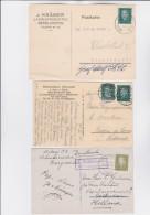 Deutsches  Reich     .     18  Postkarten   ( 6 Scans ) - Ungebraucht
