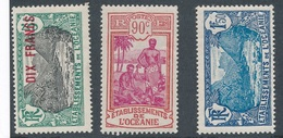 M-940: OCEANIE : Lot * Avec N°67-72-75 - Ozeanien (1892-1958)