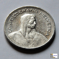 Suiza - 5 Francs - 1992 B - Svizzera