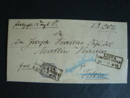 NDP, Dienstmarke Mi.-Nr. 4 Auf Brief , Stempel Lissa Reg. Bez. Posen, Von 1970 !! - Norddeutscher Postbezirk