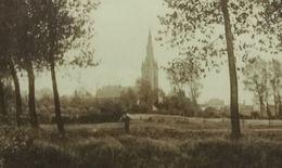 Quiévrain L'Eglise Vue De La Honnelle - Quiévrain