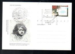 Rembrandt Van Rijn FDC  (EX-40) - Postal Stationery