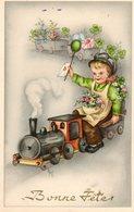 Bonne Fete...sur Un Petit Train - Dessins D'enfants
