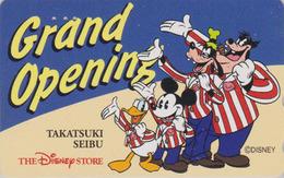 Télécarte Japon / 110-170155 - DISNEY STORE GO - MICKEY DONALD - SEIBU 1995 - Japan Phonecard / 5000 EX - Disney