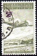 Réunion Obl. N° PA 10 - Avion Survolant Le Pont De L'Est 50cts - Réunion (1852-1975)
