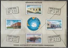 T.A.A.F - BLOC N°11 ** (2004) Gérances Postales - Blocs-feuillets