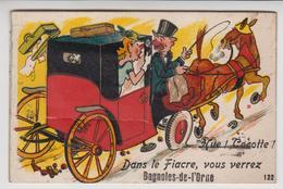 A908  /    BAGNOLES - De - L' ORNE   /  Carte à Système - Bagnoles De L'Orne