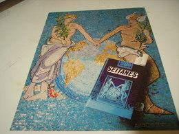 ANCIENNE PUBLICITE CIGARETTE SEITANES BRUNE FILTRE 1979 - Tabac (objets Liés)