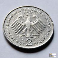 Germany - Federal Republic - 2 Mark - 1977 - 2 Marcos